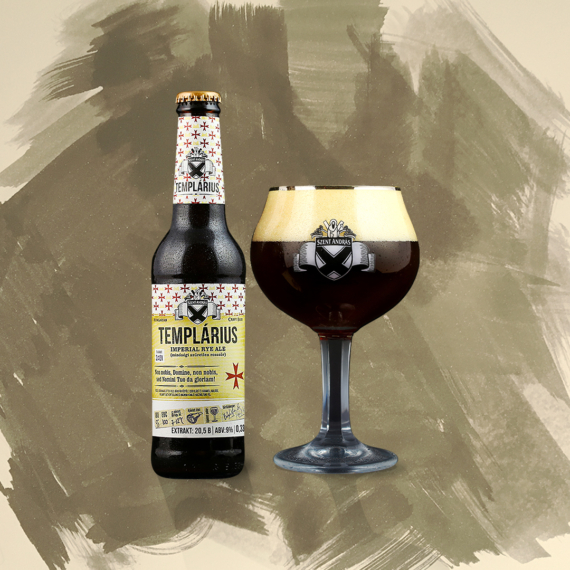 Templárius (imperial rye ale) 9%